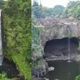 アカカ滝とレインボーフォール