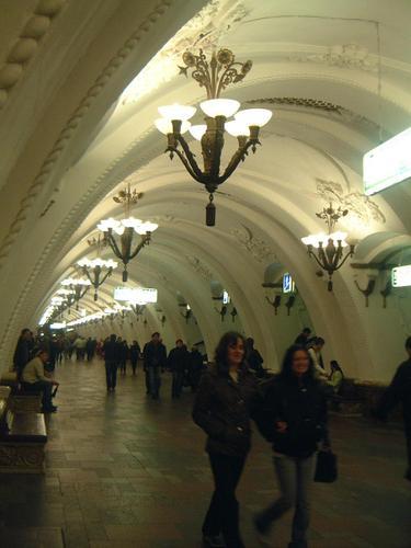 モスクワ・地下鉄